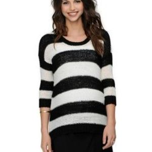 Design History Stripe Maternity Sweater